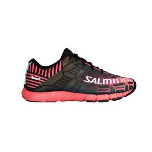 Salming Speed6 Women Black/Bright Coral
