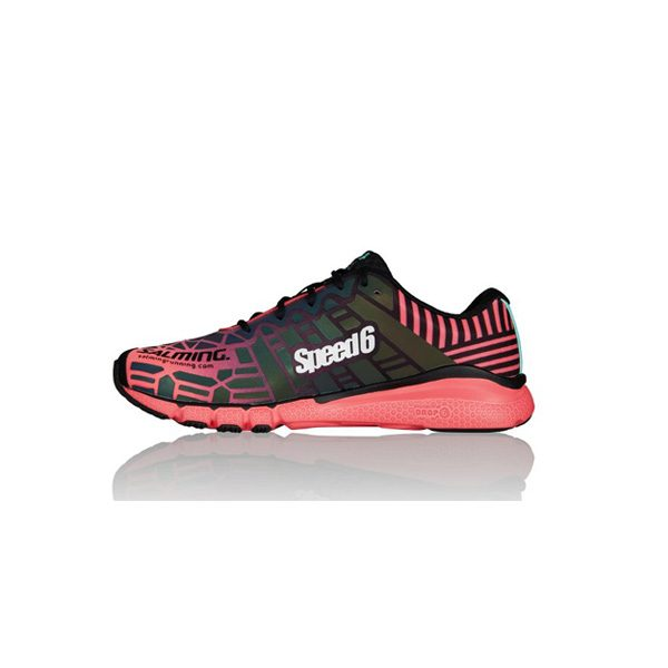 Salming Women SPEED 6 Bright Coral 2