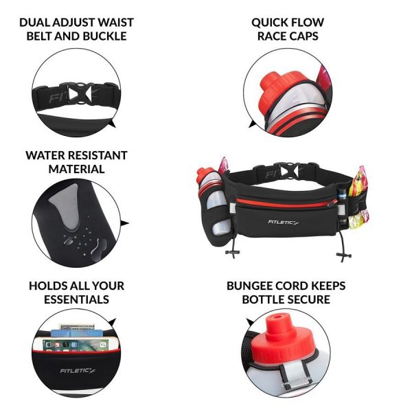 FITLETIC FULLY LOADED WATER AND GEL BELT 7