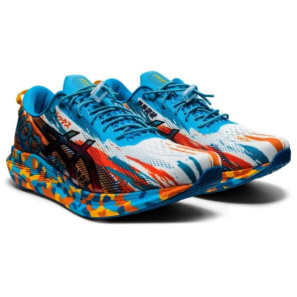 ASICS NOOSA TRI 13 DIGITAL AQUA/MARIGOLD ORANGE MEN 1