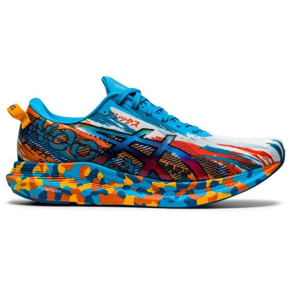 ASICS NOOSA TRI 13 DIGITAL AQUA/MARIGOLD ORANGE MEN 2