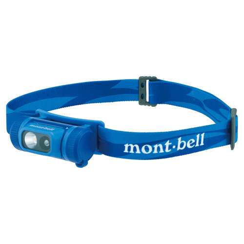 MONTBELL COMPACT HEAD LAMP BLUE 1