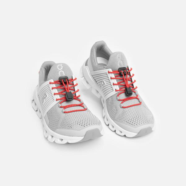 XPAND Quick-Release Lacing System RED REFLECTIVE 2
